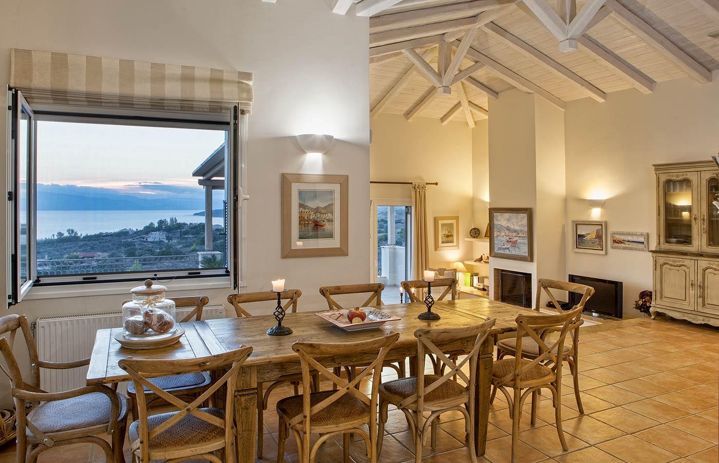 Portoheli villa kitchen